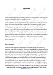 Artiklen   Analyse   Pernille Brams   10 i Karakter