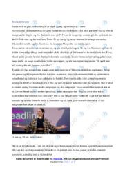 Nytårstale | Analyse | Tessa | 10 i Karakter