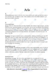 Arla | Analyse | 10 i karakter