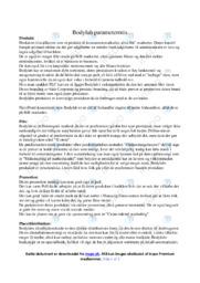 Bodylab | Analyse | 10 i karakter