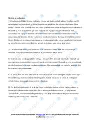 Ditur | Analyse | 10 i karakter