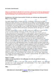 Den danske charterbranche | Afsætning | 12 i Karakter