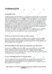 Jysk | Analyse | 12 i karakter