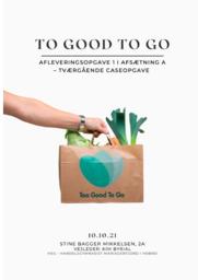 Too Good To Go | Analyse | 12 i karakter