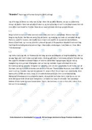 Branden | Noter Analyse | Herman Bang