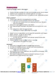 Proteinsyntese noter | Bioteknologi