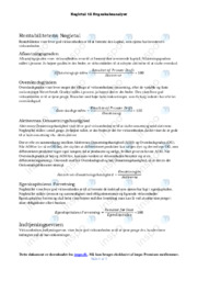 Nøgletal til Regnskabsanalyse   Noter