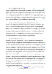 Samsøe Samsø   Noter Erhvervsøkonomi
