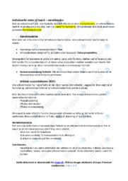 Værdikæden | Noter i afsætning | Over 4 sider