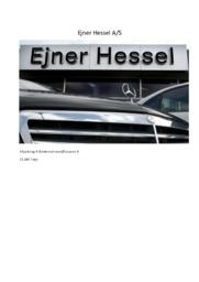 Ejner Hessel A/S | Afsætning & International økonomi