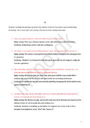 Eksempel 1 på Engelsk Delprøve A