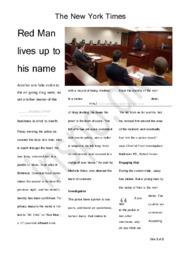 Dead Man Running turned News – Analysis | Essay