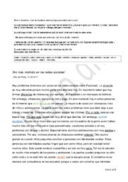 Spansk Cyberbullying og konsekvenserne deraf – Terminsprøve