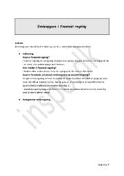 Finansiel Regning – Emneopgave Matematik