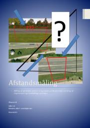 Afstandsmålling i Matematik ved brug af trigonometri og landmålings værktøjer