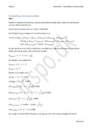 Fremstilling af en konservesdåse i matematik