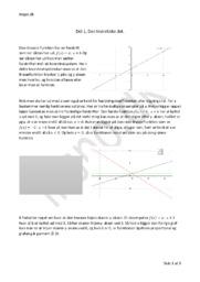 Teori Opgave omkring Lineære Funktioner