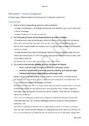 Lineære funktioner Opgave | Matematik C