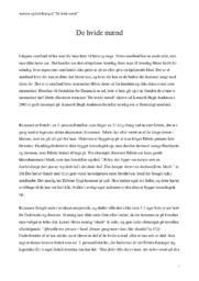 De hvide mænd | Analyse & fortolkning