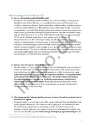Afleveringsopgave om Pressalit A/S