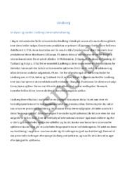 Lindberg | Afsætning | 10 i karakter