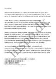 Madspil tale | engelsk | 10 i engelsk