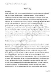 "Analyse ""Bonde-idyl"" af Henrik Pontoppidan – Novelleanalyse"