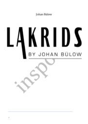 LAKRIDS BY Johan Bülow | Redegør, Analyser & markedsudvælgelse