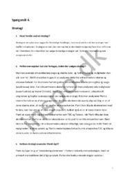 Strategi opgave | Erhvervsøkonomi