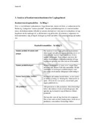 Analyse af konkurrencesituationen for Lagkagehuset