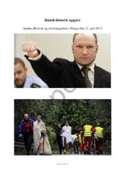 DHO | Utøya – Anders Breivik og terrorangrebet i Norge