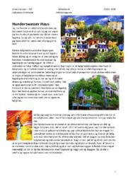 Hundertwasser Haus | Billedanalyse