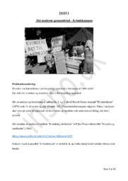Kvindekampen DHO | Det Moderne Gennembrud