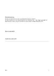 Slesvigske krige & Danmarks nationale identitet   DHO