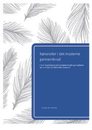 Kønsroller I det moderne gennembrud | DHO