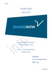 Share Now (Car2Go) | Mini-SOP