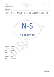 Egen Virksomhed: NeoService | Teknologirapport
