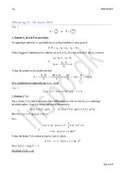 Matematik Afl. 14.-18. marts 2019 – Bestem k, så a ⃗ & b ⃗ er parallelle.