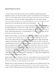 Modsætningernes Mand |  Johannes V. Jensen