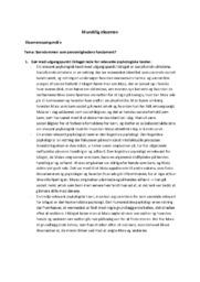 Barndommen som personlighedens fundament? | Psykologi