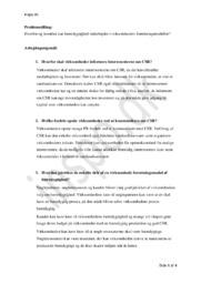 Bæredygtighed i virksomheders forretningsmodeller | PBL-opgave VØ