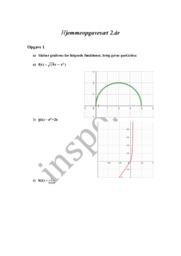 Matematik hjemmeopgavesæt