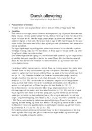 Som englene flyver | Analyse | Naja Marie Aidt