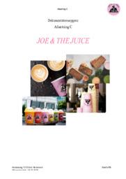 JOE & THE JUICE | Afsætning | Dokumentationsopgave