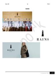 RAINS ApS | Afsætning Aflevering