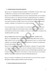 Karakterisering, analyse & diskussion   Bog & idé   Afsætning