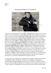 """""""Peaceforce"""" Analyse og fortolkning   Kortfilm lavet af Peter Gornstein"""