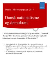 DHO   Dansk nationalisme og demokrati