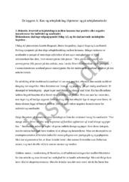 Delopgave A: Køn og arbejdsdeling i hjemmet og på arbejdsmarkedet – Opgave 3