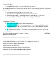 Virksomhedsøkonomi | Noter